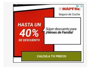 Publicidad Mapfre-Seguros Coche
