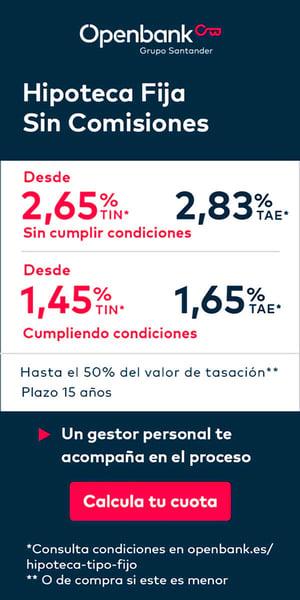 Publicidad Openbank-Hipoteca Fija