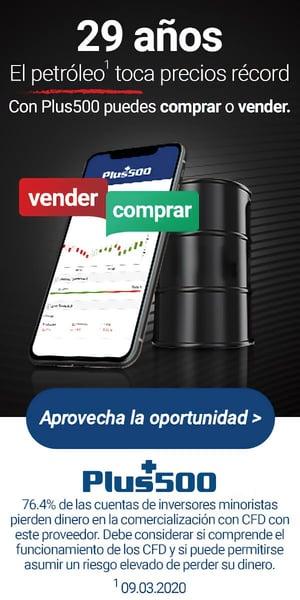 Publicidad Plus500-Inversión