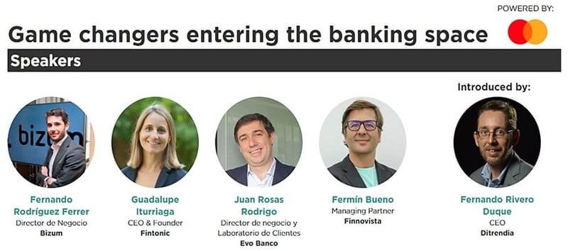 Ponentes de la mesa redonda Nuevos actores del sector financiero en el DES