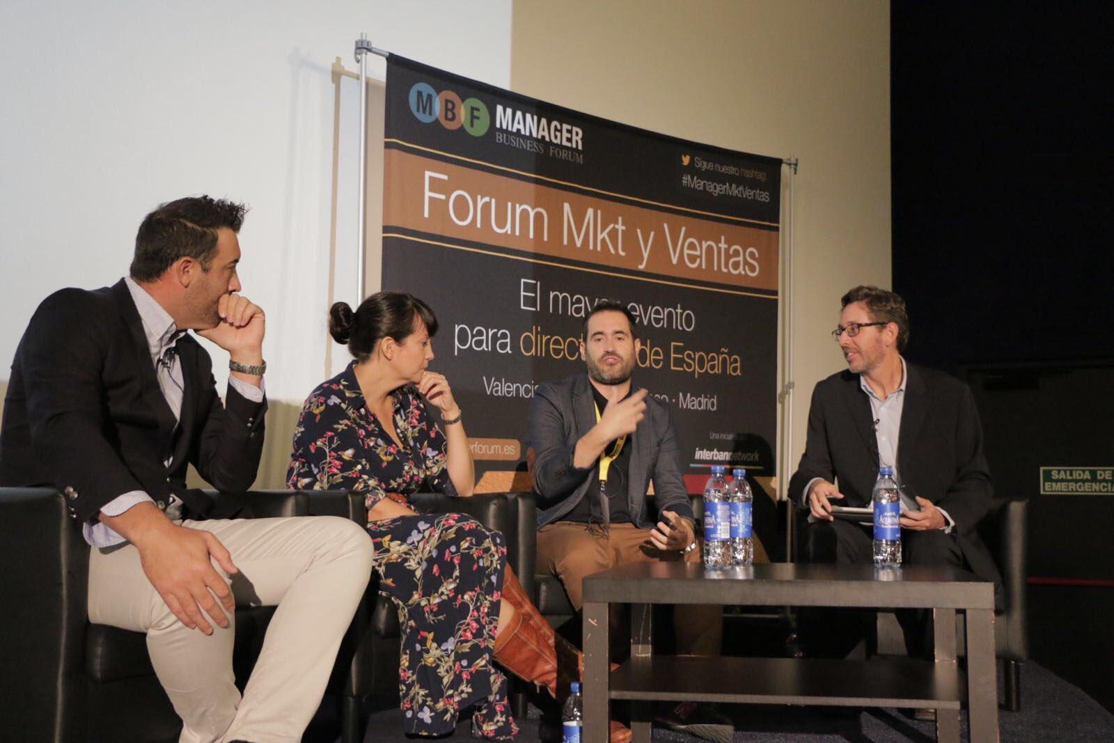 Tendencias en la gestión de la Experiencia de Marca en el Manager Fórum de Marketing y Ventas