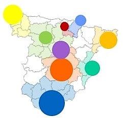 Ditrendia-Ejemplo de segmentación de clientes geográfica