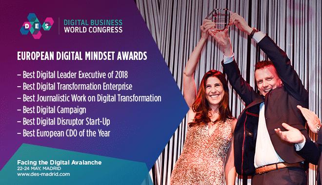 European Digital Mindset Awards-Convocatoria 2018
