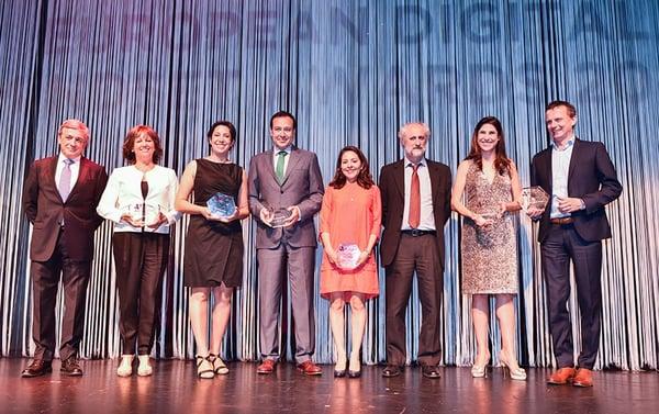 European Digital Mindset Awards-Premiados 2017