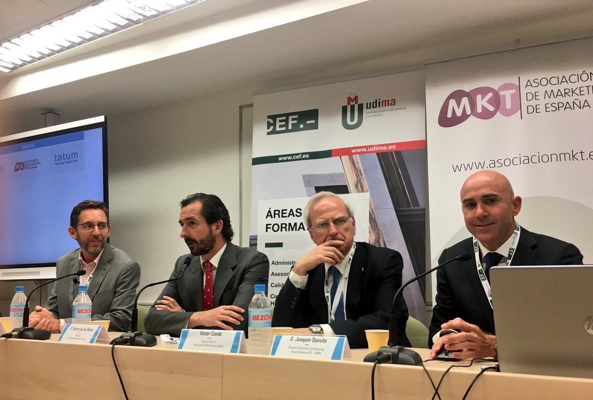 Foro Marketing Banca y Seguros-Mesa presidencial