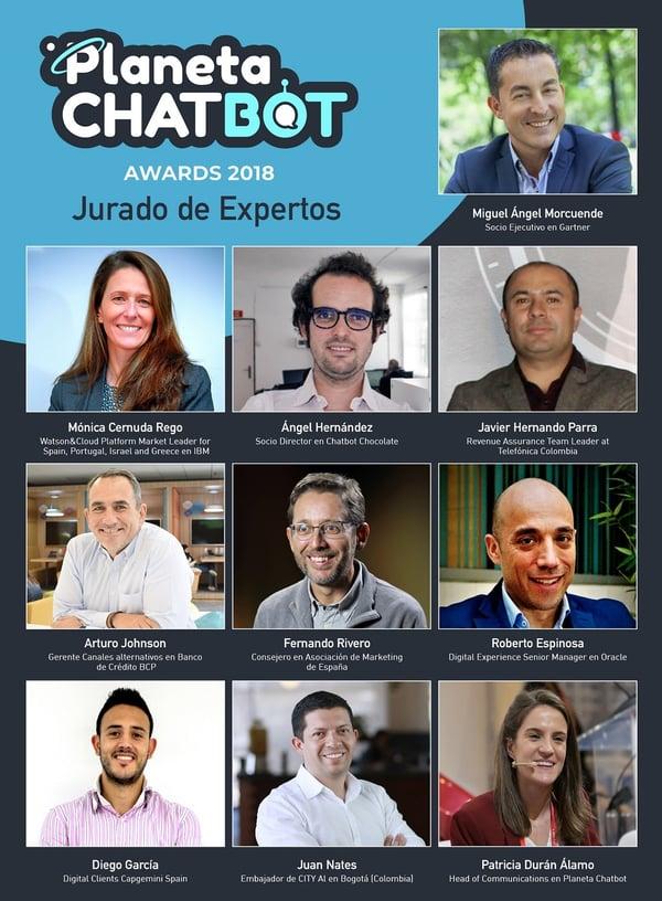 Planeta Chatbot Awards 2018-Jurado