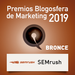 Premios Blogosfera de Marketing 2019-Bronce Semrush