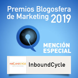 Premios Blogosfera de Marketing 2019-Mencion Especial Inboundcycle