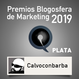 Premios Blogosfera de Marketing 2019-Plata Calvoconbarba